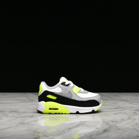 AIR MAX 90 LTR (TD) - WHITE / PARTICLE GREY / VOLT