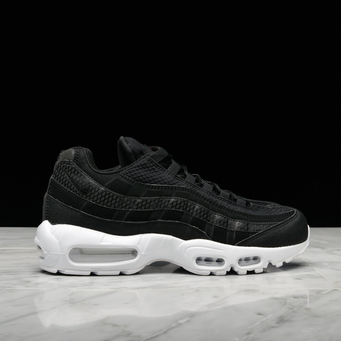 best service 47317 ad99e AIR MAX 95 PREMIUM SE - BLACK   WHITE   TEAM ORANGE   lapstoneandhammer.com