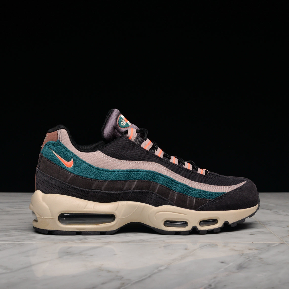 best service hot product good looking AIR MAX 95 PRM - OIL GREY / BRIGHT MANGO