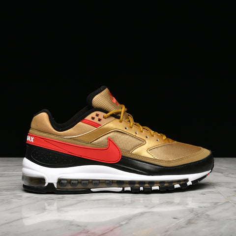 new product d5702 41857 AIR MAX 97 BW - METALLIC GOLD   UNIVERSITY RED