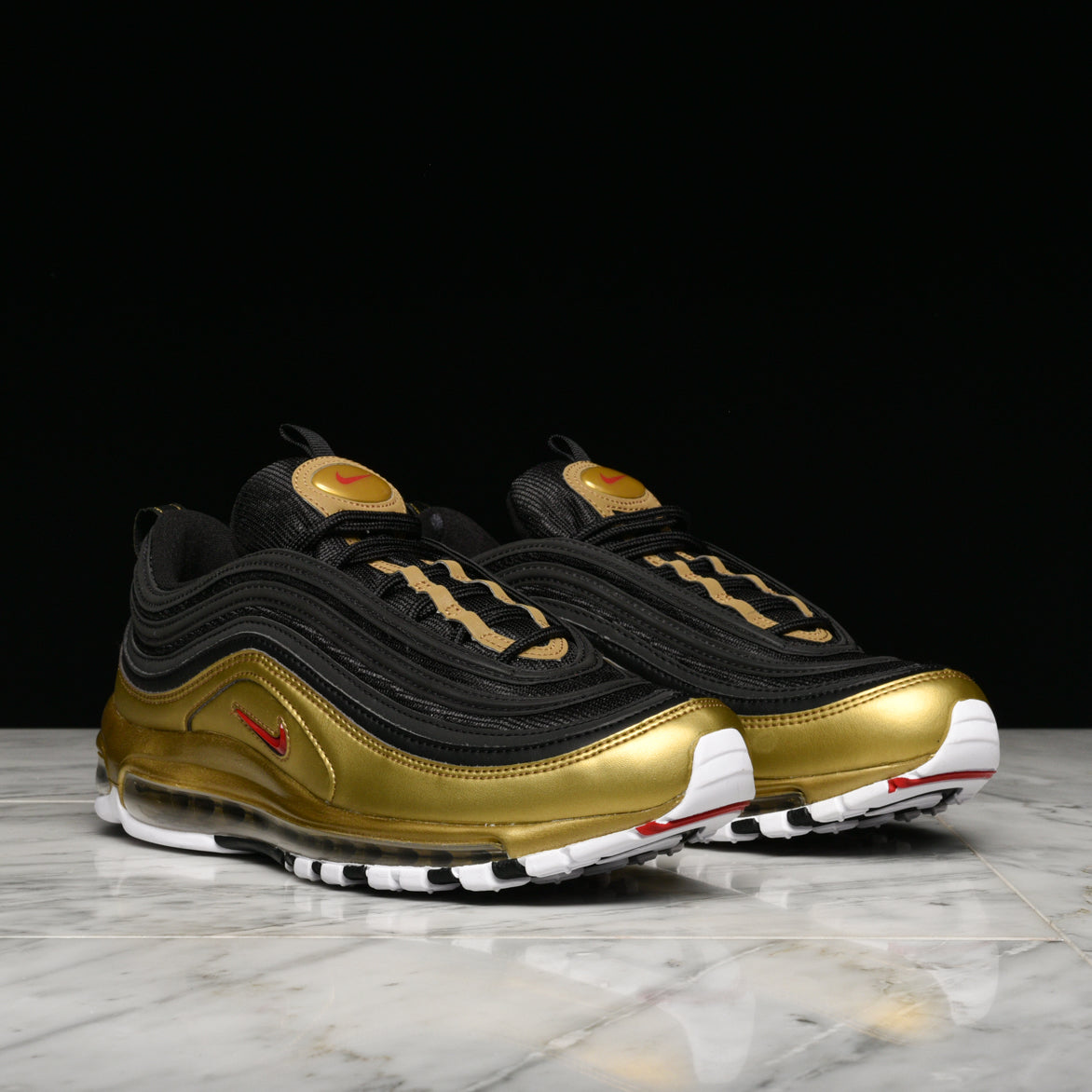 "AIR MAX 97 QS ""METALLIC PACK"" - BLACK / METALLIC GOLD"