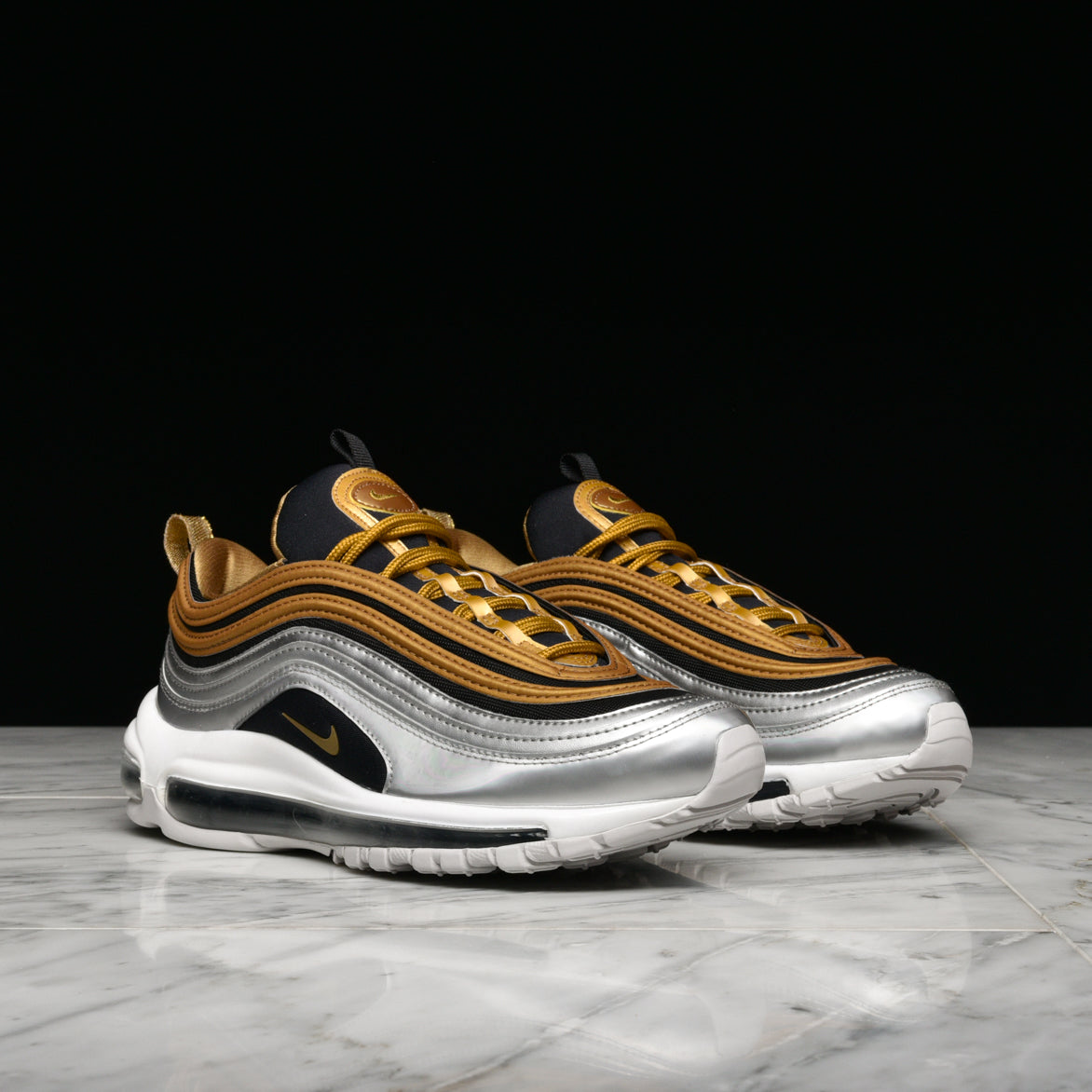 oversized bomber and nike air max 97 bullet silver 2017  2017