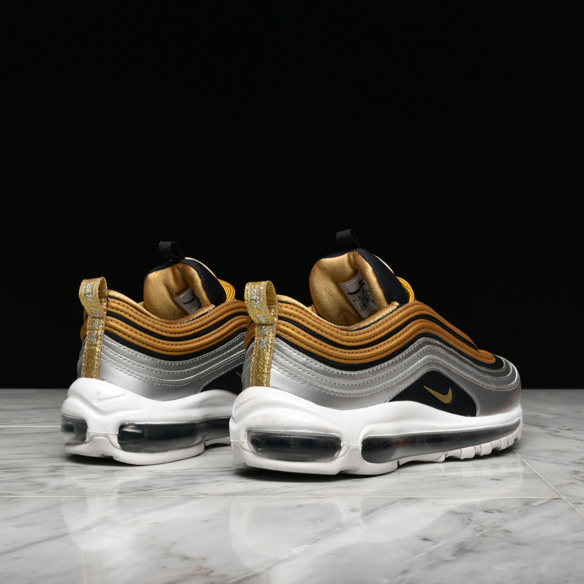 "WMNS AIR MAX 97 SE ""METALLIC GOLD PACK"" - METALLIC GOLD / METALLIC SILVER / BLACK"