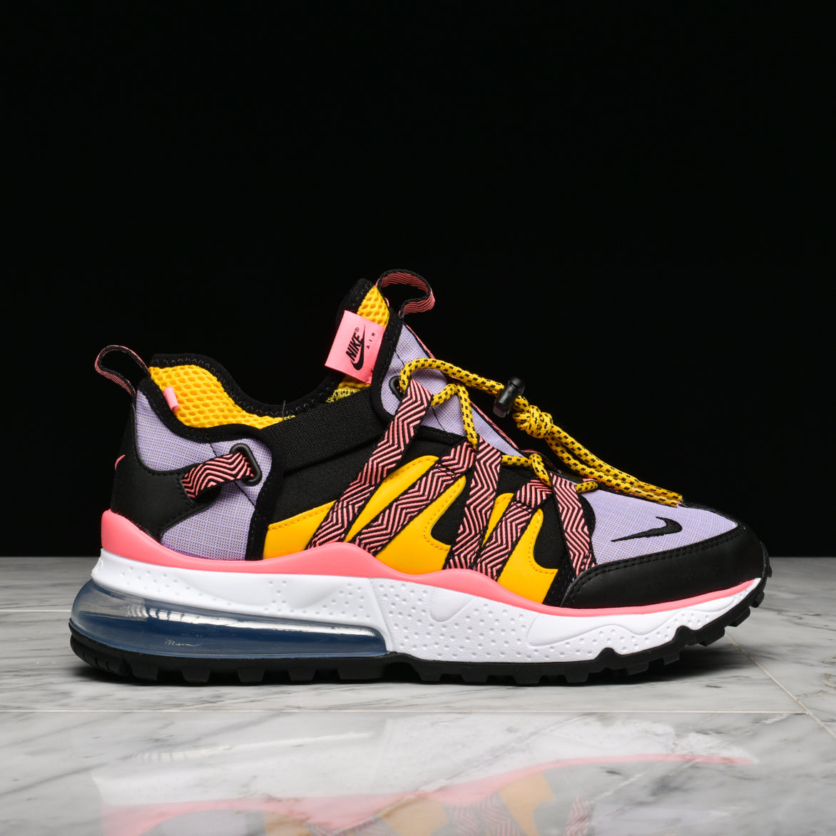AIR MAX 270 BOWFIN - BLACK / ATOMIC VIOLET