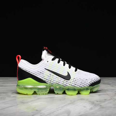 AIR VAPORMAX FLYKNIT 3 (GS) - WHITE / BLACK / VOLT