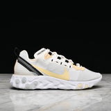 REACT ELEMENT 55 - WHITE / BLACK / PALE IVORY