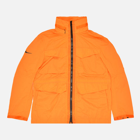 NSW TECH PACK JACKET - KUMQUAT / BLACK
