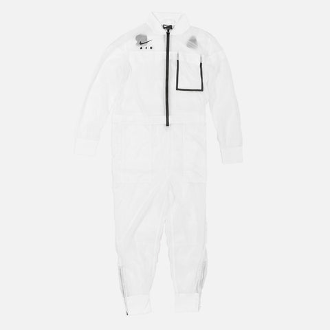 WMNS NIKE AIR JUMPESUIT - WHITE / BLACK