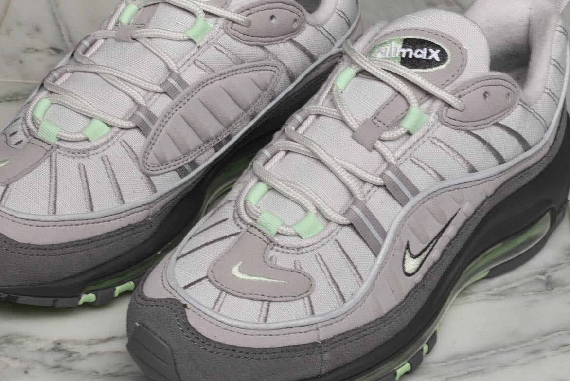 AIR MAX 98 (GS) - VAST GREY / FRESH MINT
