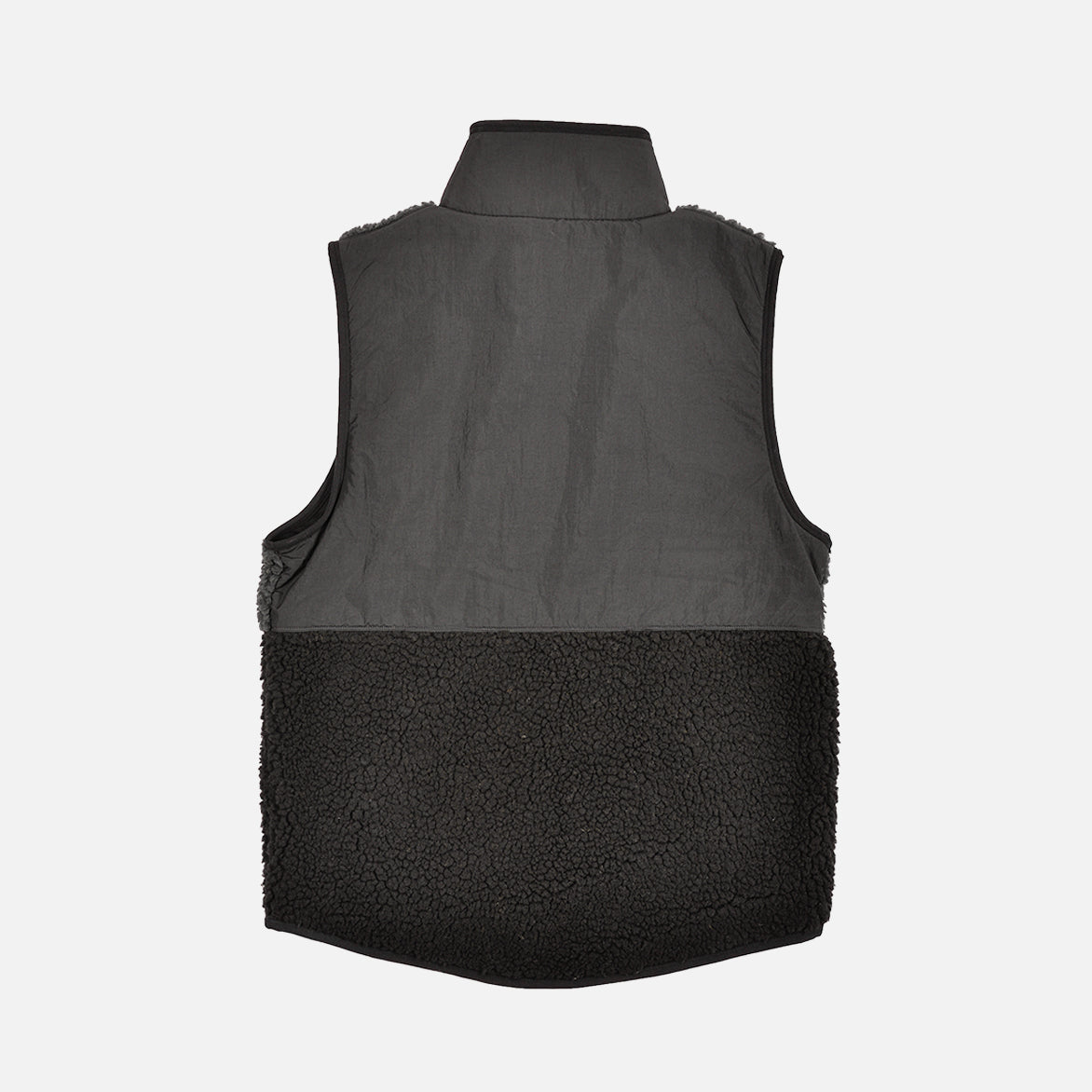 NSW SHERPA FLEECE VEST - BLACK OFF NOIR