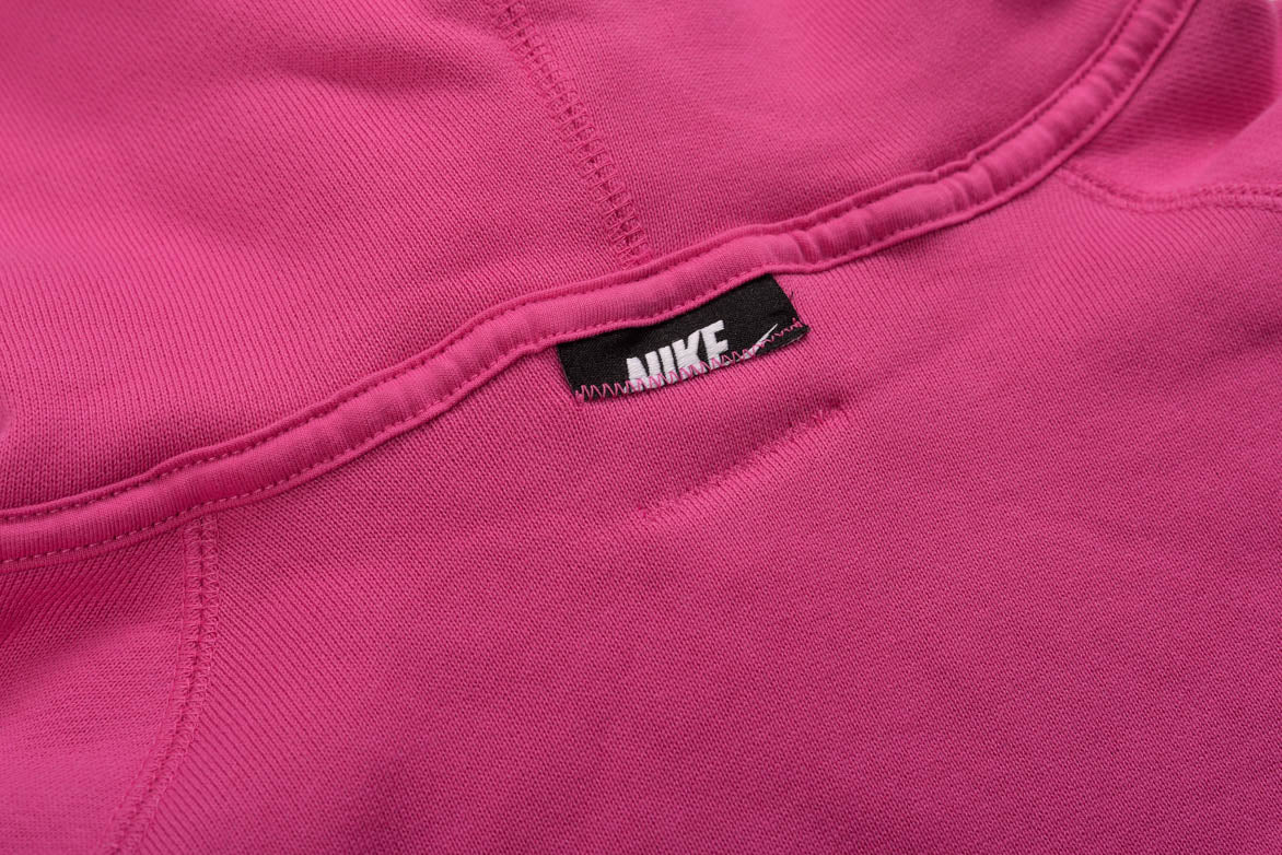 NSW PULLOVER FLEECE HOODIE - ACTIVE FUCHSIA