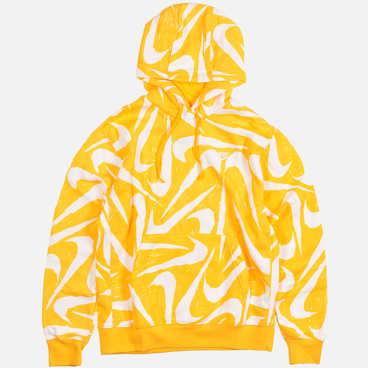 NSW CLUB BB PULLOVER HOODIE - UNIVERSITY GOLD / WHITE