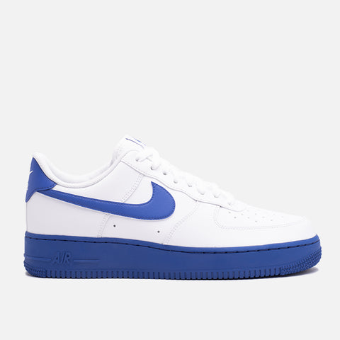 AIR FORCE 1 '07 - WHITE / VARSITY ROYAL