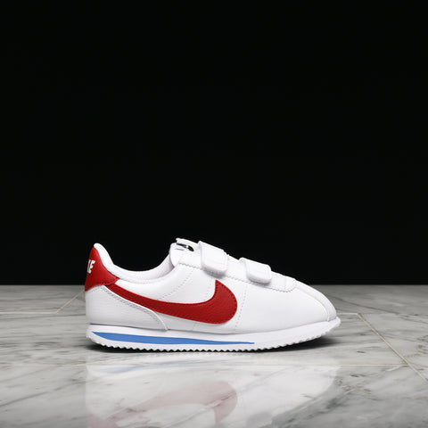 CORTEZ BASIC SL (PS) - WHITE / VARSITY RED / GAME ROYAL