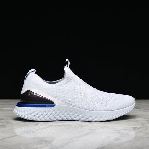 EPIC PHANTOM REACT FLYKNIT - WHITE / HYDROGEN BLUE