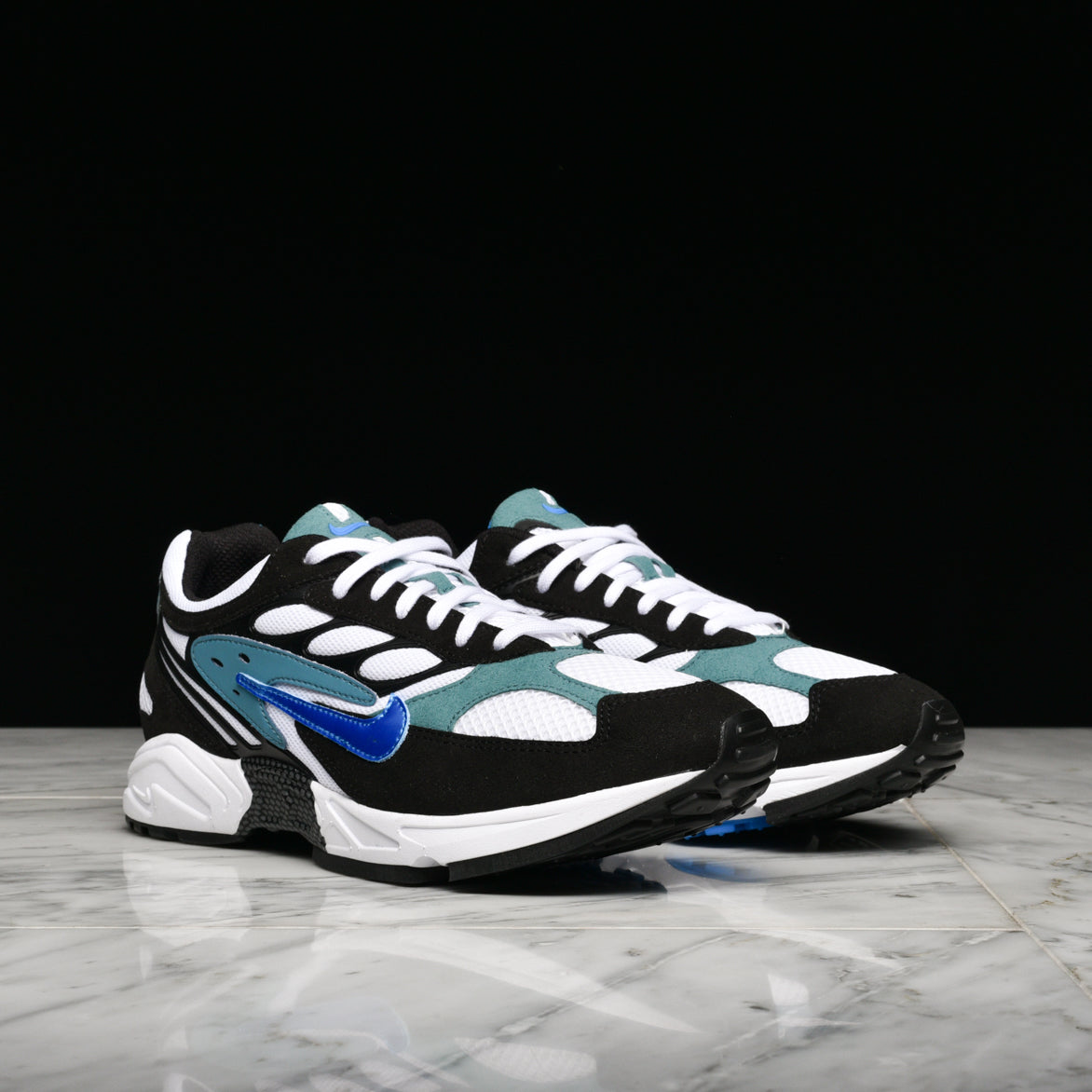 AIR GHOST RACER - BLACK / PHOTO BLUE / MINERAL TEAL