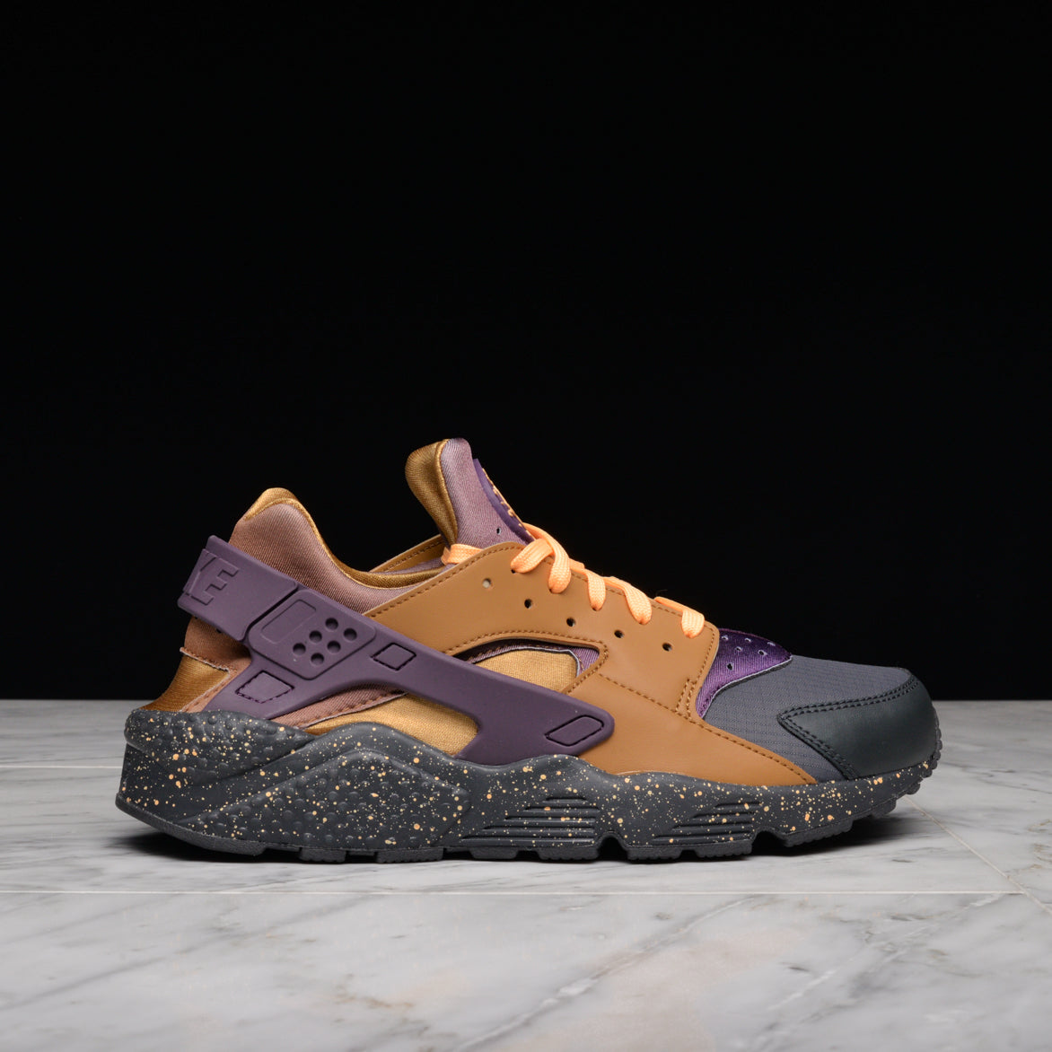 promo code cd4a7 6fbc7 low price nike huarache brown purple 8ca56 7cd42