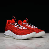LEBRON XV LOW - UNIVERSITY RED / BLACK