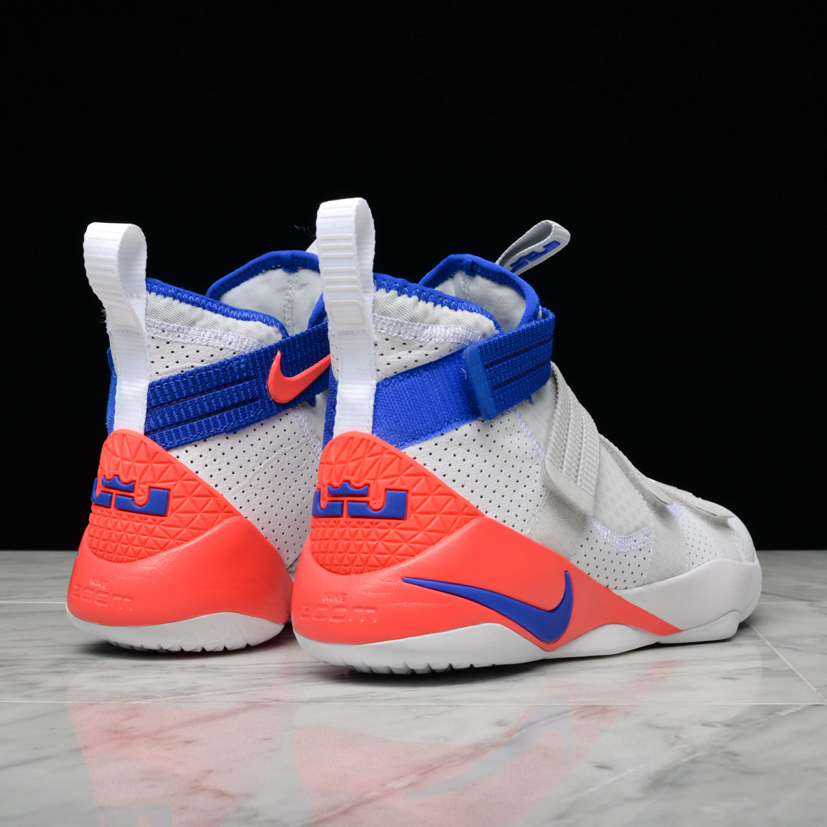 bce4612a58e ... LEBRON SOLDIER XI SFG - WHITE   RACER BLUE   INFRARED ...