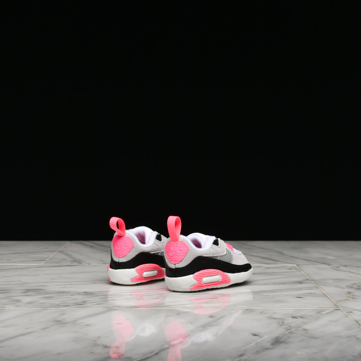 MAX 90 CRIB - WHITE / PARTICLE GREY / ROSE