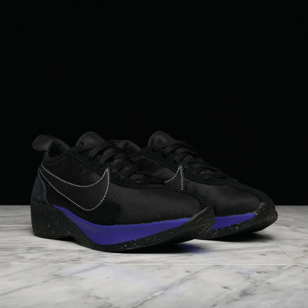 "MOON RACER QS ""BLACK / RACER BLUE"""