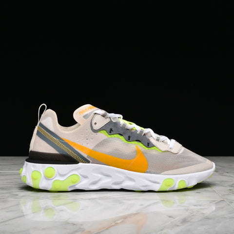 REACT ELEMENT 87 - LIGHT OREWOOD BROWN / LASER ORANGE