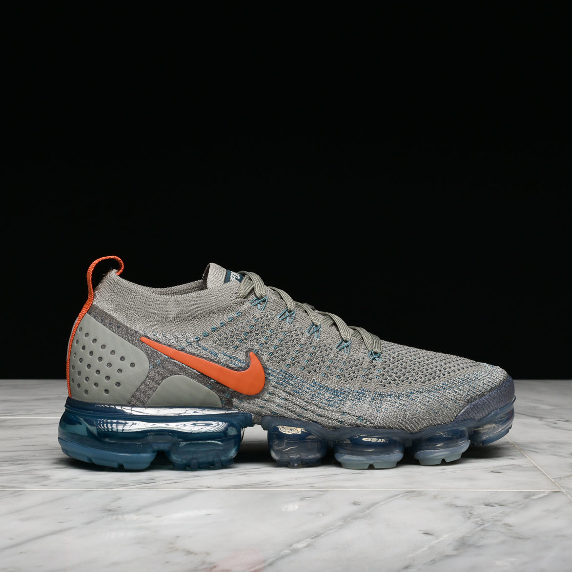 free shipping be85c 899dc AIR VAPORMAX FLYKNIT 2 - DARK STUCCO / LIGHT SILVER
