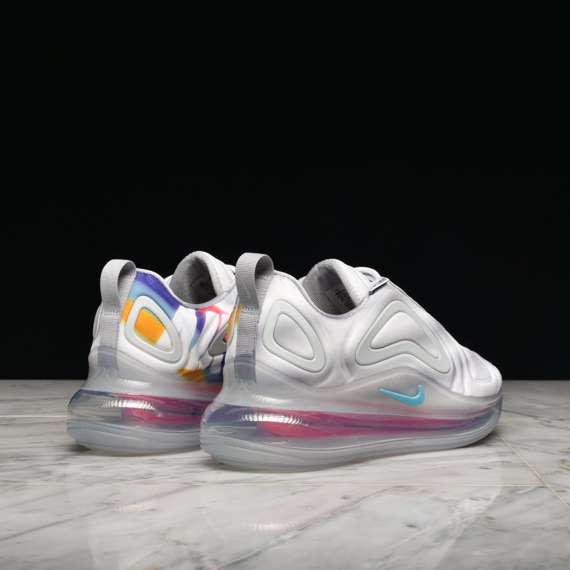 WMNS AIR MAX 720 - WOLF GREY / TEAL NEBULA