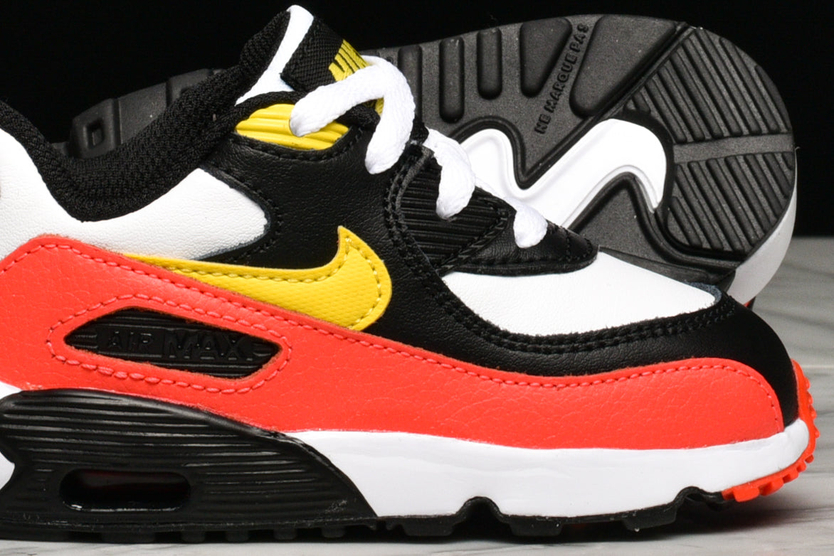 AIR MAX 90 LTR (TD) - WHITE / CHROME YELLOW / BLACK
