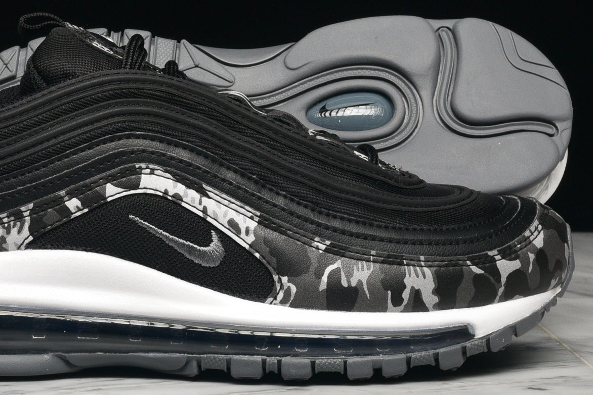 "WMNS AIR MAX 97 PRM ""ANIMAL"" - BLACK / COOL GREY"