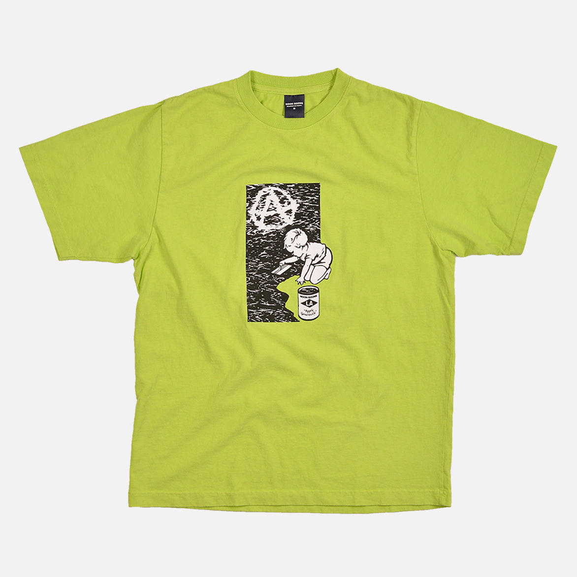 FOUNDATION TEE - GREEN