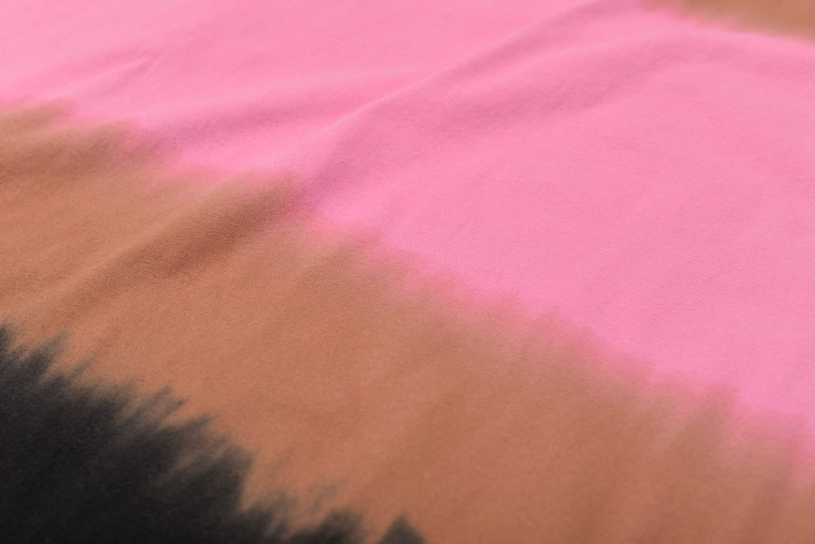 MAX DYED THIS SHIRT - BLACK / BROWN / PINK