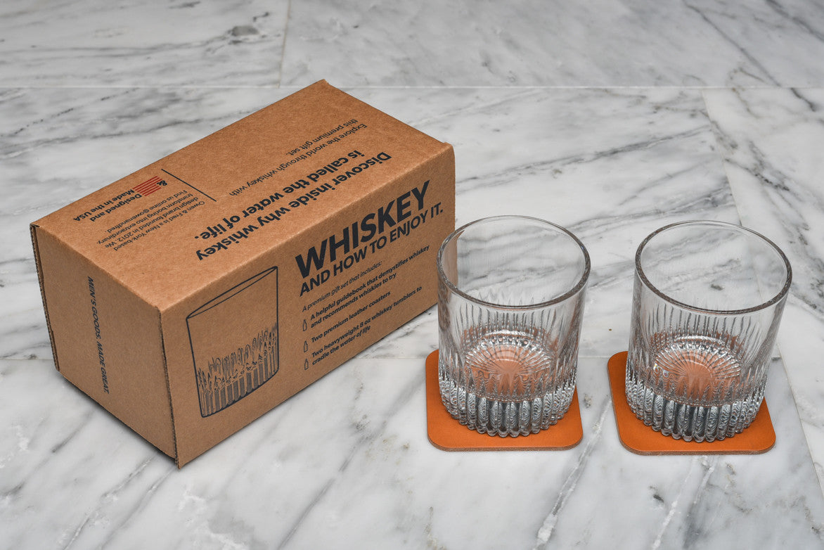 WHISKEY AND HOW TO ENJOY IT KIT