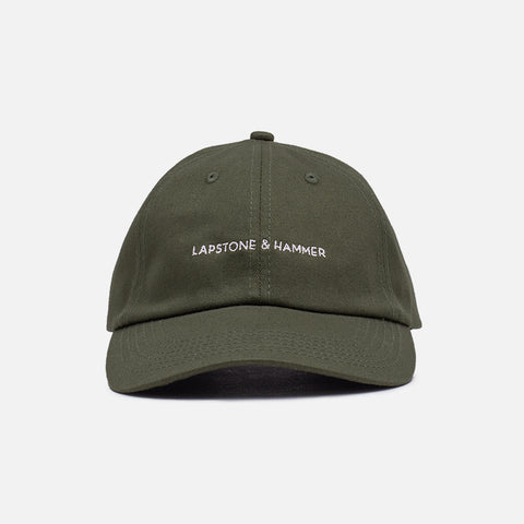 SIGNATURE DAD HAT - OLIVE