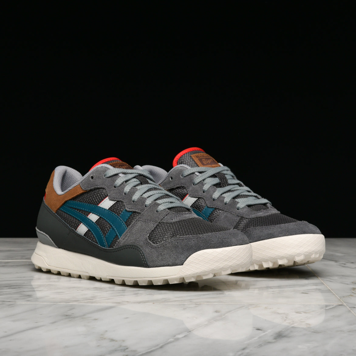 TIGER HORIZONIA - DARK GREY / SPRUCE GREEN