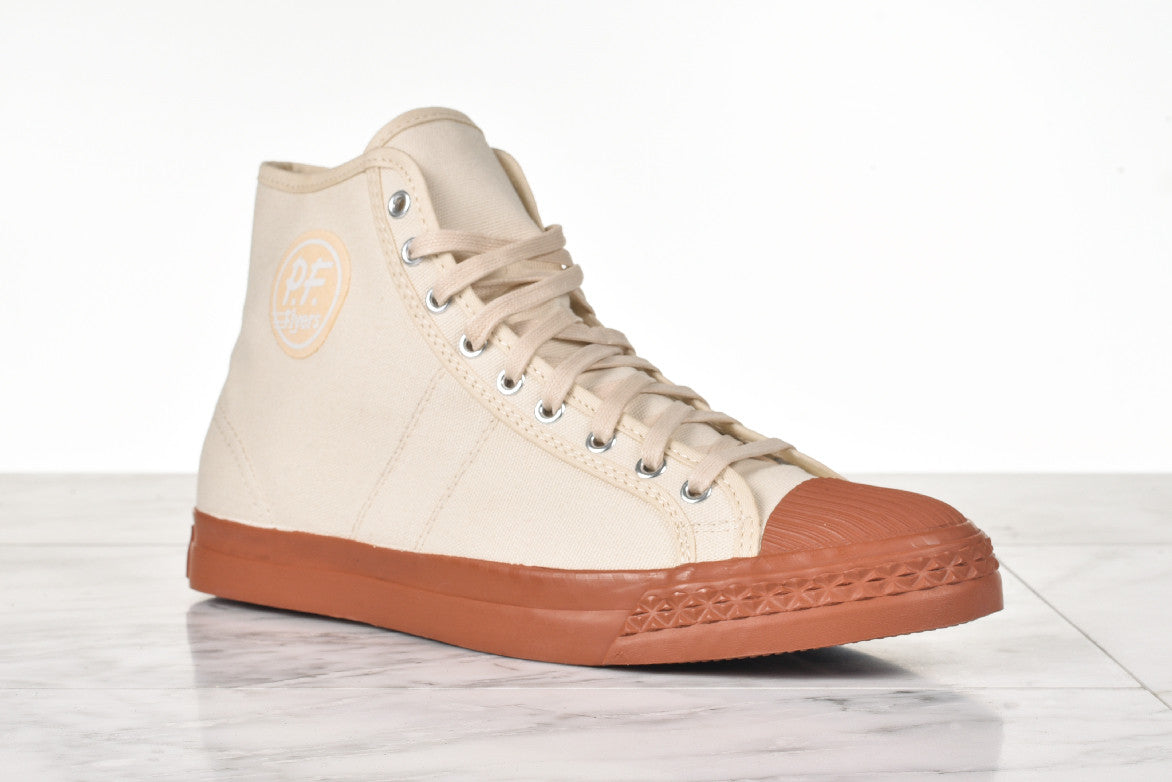 PF FLYERS x THE BKC RAMBLER - OFF WHITE
