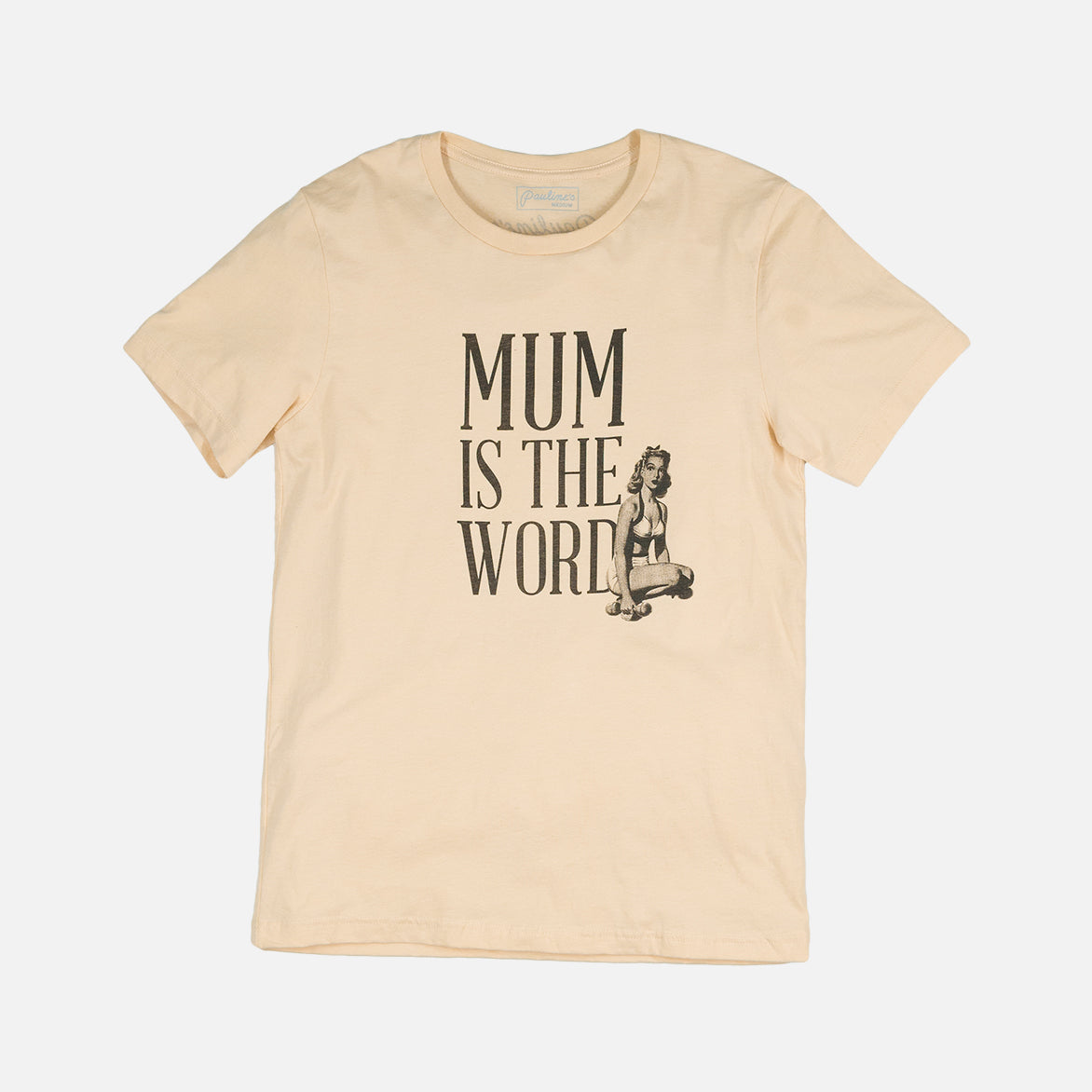 MUMS PIN-UP TEE 2 - IVORY