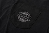 LAPSTONE LOGO POCKET TEE - BLACK