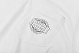 LAPSTONE LOGO POCKET TEE - WHITE