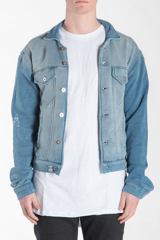 DYLAN JACKET - WASHED INDIGO