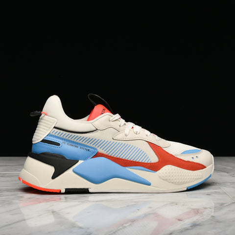 RS-X REINVENTION - WHISPER WHITE / RED BLAST
