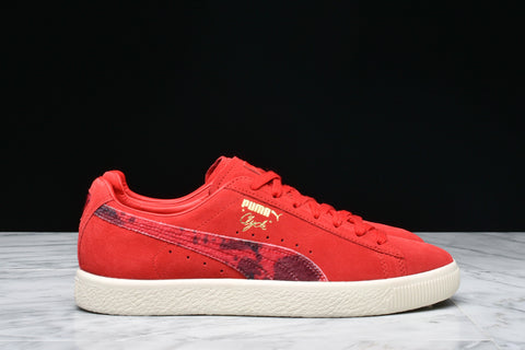 "PACKER x PUMA CLYDE ""RED COW"""