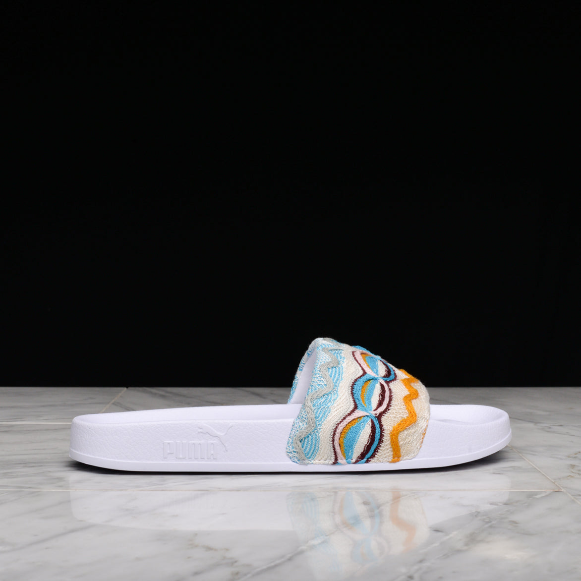 PUMA X COOGI LEADCAT SLIDE - WHITE / MULTI