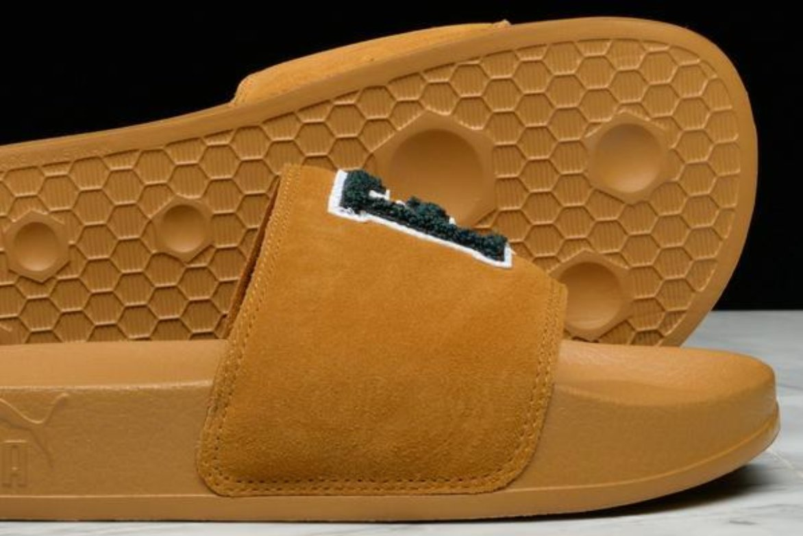"PUMA x FENTY BY RIHANNA LEADCAT ""FU"" - GOLDEN BROWN"