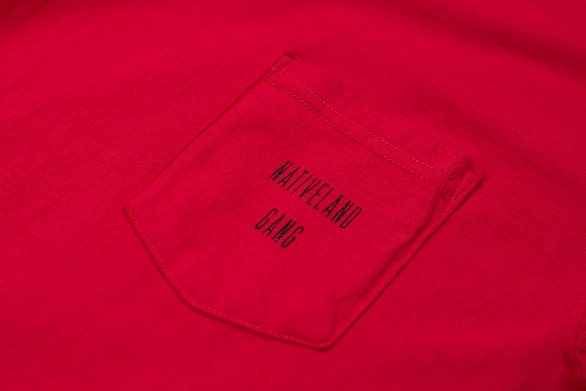 NATIVELAND GANG TEE - RED