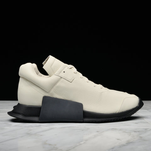 RICK OWENS x ADIDAS RO LEVEL RUNNER LOW II - MILK