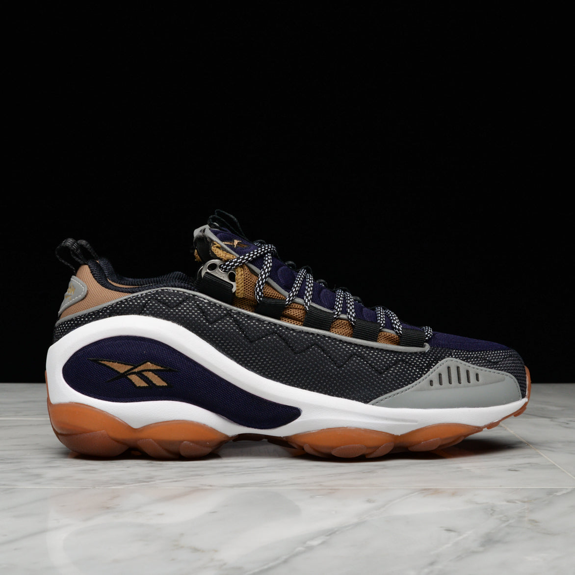 DMX RUN 10 - BLACK / TWEED BROWN