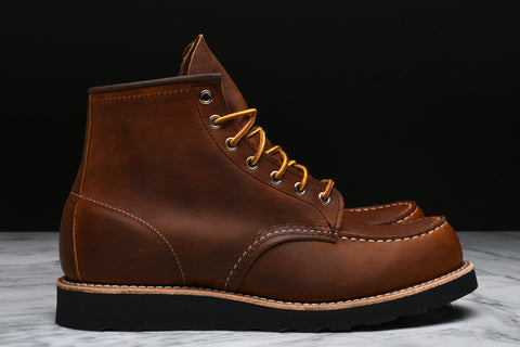 "LIMITED EDITION 6"" CLASSIC MOC - COPPER ROUGH & TOUGH ""BLACK SOLE"""