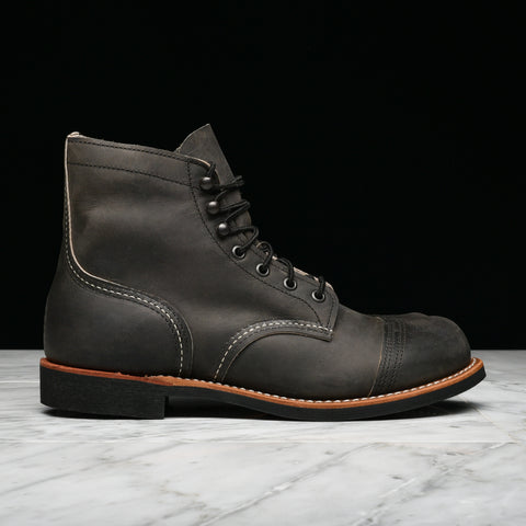 "6"" IRON RANGER LUG SOLE - CHARCOAL"