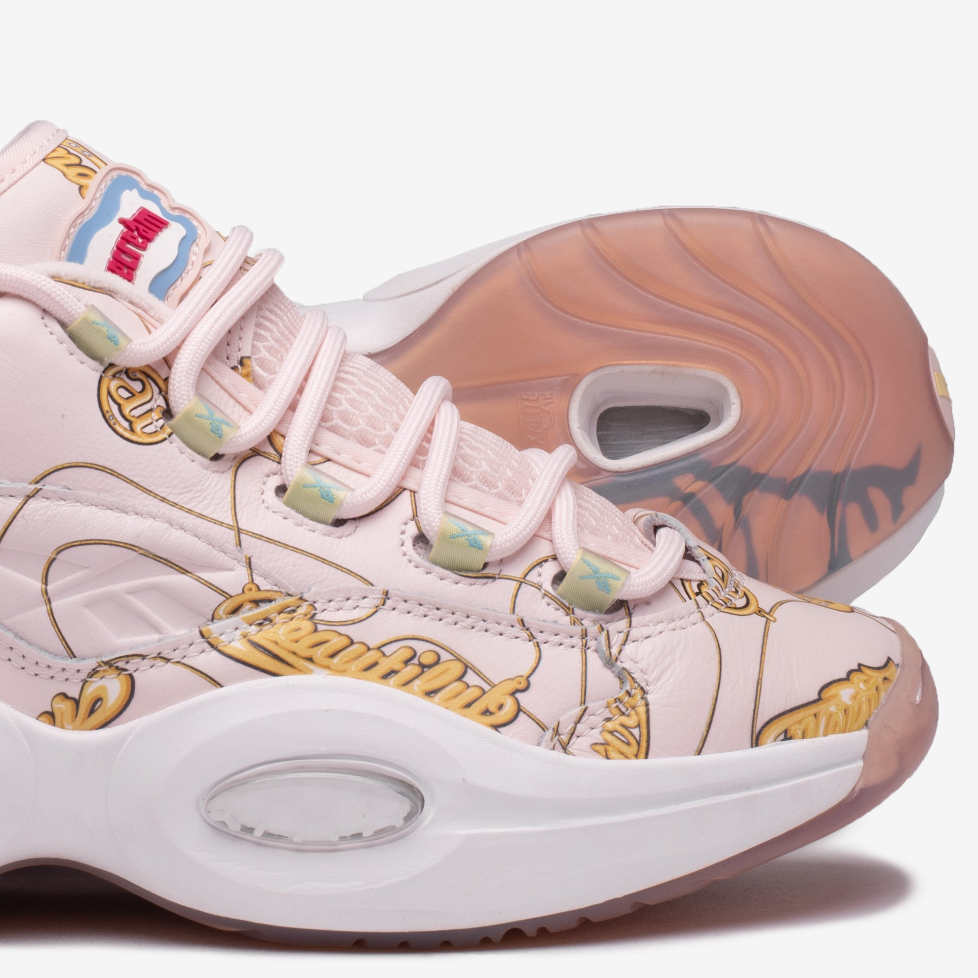 "BBC ICECREAM X REEBOK QUESTION LOW ""NAME CHAINS"""